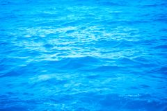 Blue sea texture background soft and selective focus. Blue sea texture summer nature background soft and selective focus stock images