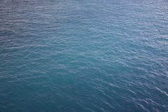 Blue sea. A blue sea to watch from the sea Stock Photos