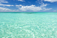 Blue sea water Royalty Free Stock Image