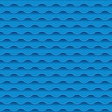 Blue sea water abstract geometry pattern. Royalty Free Stock Photos
