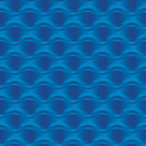 Blue sea water abstract geometry pattern. Royalty Free Stock Photo