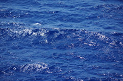 Blue Sea Water Royalty Free Stock Images