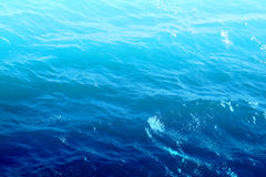 Blue sea water Royalty Free Stock Photos
