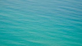 Blue sea water on exotic tropical island. Scenic and peaceful background of perfect sea shore stock video footage