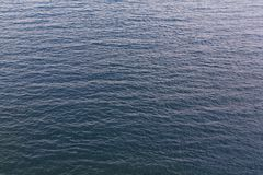 Blue sea water surface Stock Images