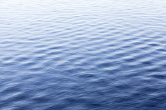 Blue sea water surface with ripple, background Stock Photography