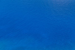 Blue sea water texture Royalty Free Stock Images