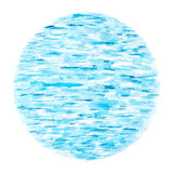 Blue Sea Waves as Natural Abstract Background Royalty Free Stock Images