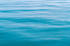 Blue sea waves surface abstract background pattern Stock Image