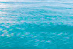 Blue sea waves surface abstract background pattern Stock Images