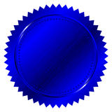 Blue seal Royalty Free Stock Image