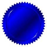 Blue seal vector illustration