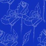 Blue seamless Royalty Free Stock Image