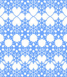Blue seamless abstract winter background. Illustration in vector format Royalty Free Stock Photo