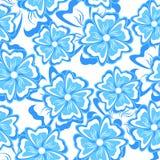 Blue seamless background. Stock Photos