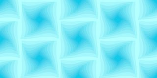 Blue seamless background of twisted squares. Vector vector illustration