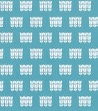 Blue Seamless color pattern. stock photo