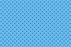 Blue seamless diagonal mesh. Abstract vector art illustration Royalty Free Stock Image