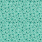 Blue seamless floral pattern Royalty Free Stock Photos