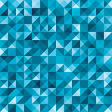 Blue seamless geometric abstract pattern Royalty Free Stock Image