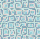 Blue seamless geometric pattern Royalty Free Stock Photography