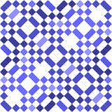 Blue seamless geometric pattern background Royalty Free Stock Images