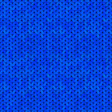 Blue seamless knitted texture Stock Photography