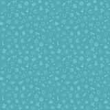 Blue Seamless Medical Pattern Stock Images