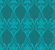 Blue seamless pattern Royalty Free Stock Image