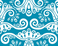 Blue seamless pattern Stock Image