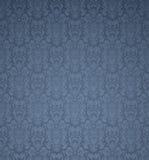 Blue seamless pattern Royalty Free Stock Image