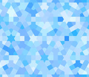 Blue seamless pattern with arabic texture Royalty Free Stock Photos