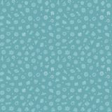 Blue Seamless Pattern with Bacteria and Germs. For Medical Design. Editable pattern in swatches. Clipping paths included in additional jpg format Royalty Free Stock Image