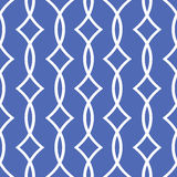 Blue seamless pattern Royalty Free Stock Images