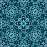 Blue seamless  pattern eps 10 Royalty Free Stock Images