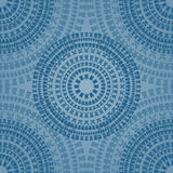 Blue seamless pattern Royalty Free Stock Photos