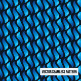 Blue  seamless pattern Royalty Free Stock Photography