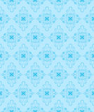 Blue seamless pattern. Vector illustration Stock Images