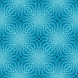 Blue Seamless Repeating PAttern stock photography