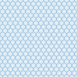 Blue seamless snowflakes pattern. Vector snow Stock Photos