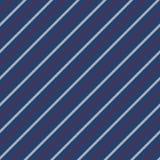 Blue seamless stripes pattern diagonal texture vector illustration