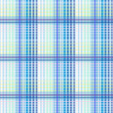 Blue seamless texture plaid Stock Image