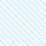 Blue seamless tilted striped pattern packaging paper background. In vector format Stock Photography