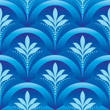 Blue Seamless vector background Royalty Free Stock Photography