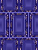 Blue seamless vintage background. There is an option in the Stock Images