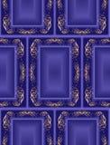 Blue seamless vintage background Stock Images