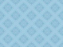 Blue Seamless Wallpaper Pattern Stock Images