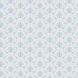 Blue Seamless wallpaper pattern Stock Image
