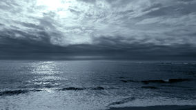 Blue seascape Royalty Free Stock Photography