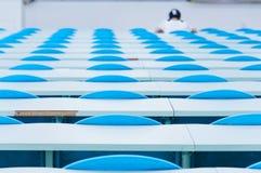 Blue   seat Royalty Free Stock Image